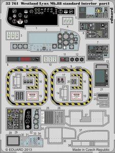Lynx Mk.88 - Interior S.A. [Revell] · EDU 32761 ·  Eduard · 1:32