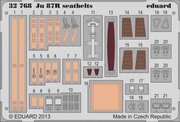 Junkers Ju 87 R - Seatbelts [Trumpeter] · EDU 32768 ·  Eduard · 1:32