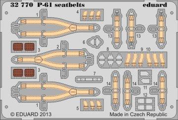 P-61 Black Widow - Seatbelts [HobbyBoss] · EDU 32770 ·  Eduard · 1:32