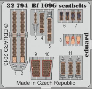 Messerschmitt BF 109G - Seatbelts [Revell] · EDU 32794 ·  Eduard · 1:32