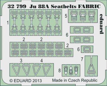 Ju 88A - Seatbelts FABRIC [Revell] · EDU 32799 ·  Eduard · 1:32