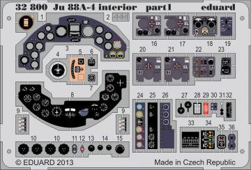 Junkers JU 88A-4 - Interior S.A. [Revell] · EDU 32800 ·  Eduard · 1:32