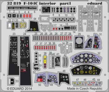 F-104C Starfighter - Interior S.A. [Italeri] · EDU 32819 ·  Eduard · 1:32
