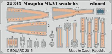 Mosquito Mk.VI - Seatbelts [Tamiya] · EDU 32845 ·  Eduard · 1:32