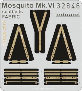 Mosquito Mk.VI - Seatbelts FABRIC [Tamiya] · EDU 32846 ·  Eduard · 1:32