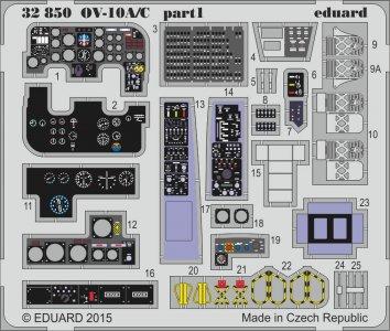 OV-10 A/C Bronco [Kitty Hawk] · EDU 32850 ·  Eduard · 1:32