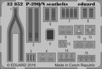 P-39 Q/N Airacobra - Seatbelts [Kitty Hawk] · EDU 32852 ·  Eduard · 1:32