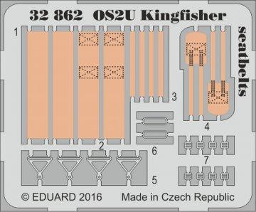 OS2U Kingfisher - Seatbelts [Kitty Hawk] · EDU 32862 ·  Eduard · 1:32