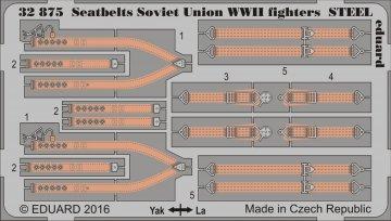 Seatbelts Soviet Union WWII fighters STEEL · EDU 32875 ·  Eduard · 1:32
