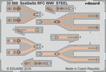 Seatbelts RFC WWI Steel · EDU 32888 ·  Eduard · 1:32