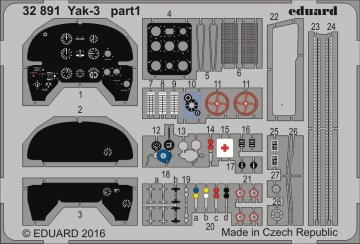 Yak-3 [Special Hobby] · EDU 32891 ·  Eduard · 1:32