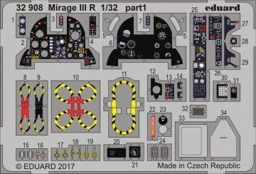 Mirage III R [Italeri] · EDU 32908 ·  Eduard · 1:32