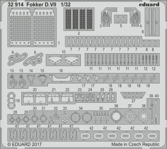 Fokker D.VII [Wingnut Wings] · EDU 32914 ·  Eduard · 1:32