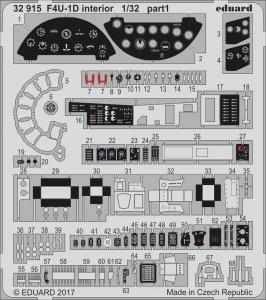 US Vought F4U-1D Corsair - Interior [Tamiya] · EDU 32915 ·  Eduard · 1:32