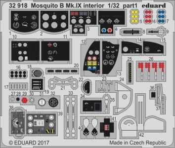 Mosquito B Mk.IX - Interior [HKM] · EDU 32918 ·  Eduard · 1:32