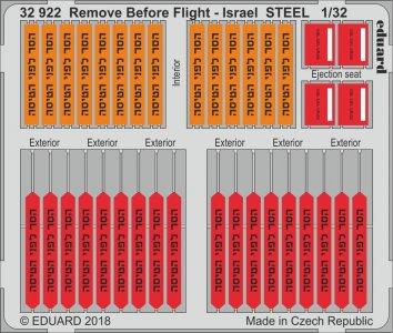Remove Before Flight - Israel - STELL · EDU 32922 ·  Eduard · 1:32