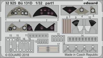 Bücker Bü 131D [ICM] · EDU 32925 ·  Eduard · 1:32
