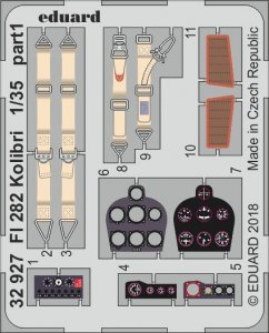 FI 282 Kolibri [Miniart] · EDU 32927 ·  Eduard · 1:35