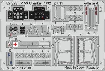 I-153 Chaika [ICM] · EDU 32929 ·  Eduard · 1:32