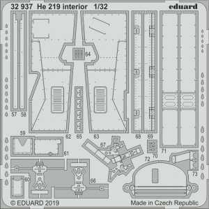 Heinkel He 219 - Interior [Revell] · EDU 32937 ·  Eduard · 1:32