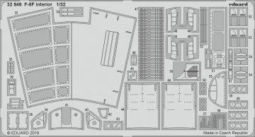 F-5F Tiger II - Interior [Kitty Hawk] · EDU 32946 ·  Eduard · 1:32