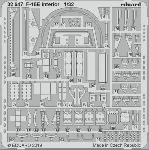 F-15E - Interior [Tamiya] · EDU 32947 ·  Eduard · 1:32