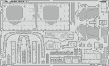 Westland Lynx Mk.8 - Interior [Revell] · EDU 32949 ·  Eduard · 1:32