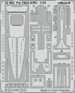 Focke Wulf Fw 190 A-8/R2 [Revell] · EDU 32952 ·  Eduard · 1:32