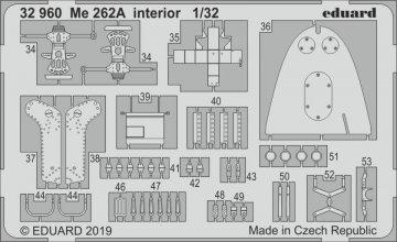 Messerschmitt Me 262A - Interior [Revell] · EDU 32960 ·  Eduard · 1:35