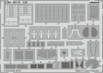 AH-1Z [Academy] · EDU 32961 ·  Eduard · 1:35