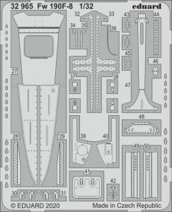 Focke Wulf Fw 190 F-8 [Revell] · EDU 32965 ·  Eduard · 1:32