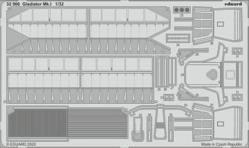 Gladiator Mk.I [ICM] · EDU 32966 ·  Eduard · 1:32