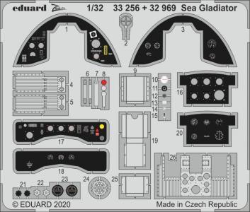Sea Gladiator [ICM] · EDU 32969 ·  Eduard · 1:32