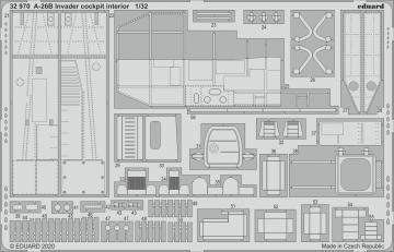 A-26B Invader - Cockpit interior [HobbyBoss] · EDU 32970 ·  Eduard · 1:32
