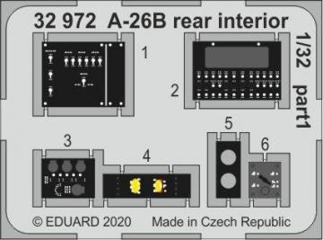 A-26B Invader - Rear interior [HobbyBoss] · EDU 32972 ·  Eduard · 1:32