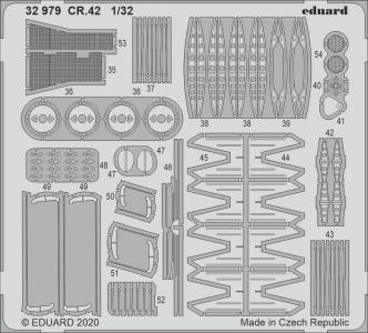 CR.42 [ICM] · EDU 32979 ·  Eduard · 1:32