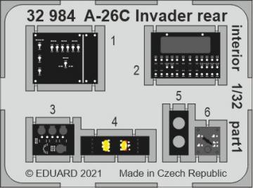 A-26C Invader - Rear interior [HobbyBoss] · EDU 32984 ·  Eduard · 1:32