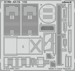 AH-1G Cobra [ICM] · EDU 32990 ·  Eduard · 1:32