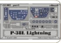 P-38L Lightining Zoom · EDU 33002 ·  Eduard · 1:32
