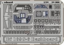 Messerschmitt Bf 109 G-6 - Dashboard [Hasegawa] · EDU 33006 ·  Eduard · 1:32