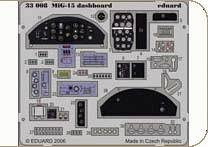 Mig-15 - Dashboard · EDU 33008 ·  Eduard · 1:32