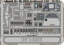Messerschmitt Bf 109 K dashboard für Hasegawa-Bausatz · EDU 33015 ·  Eduard · 1:32