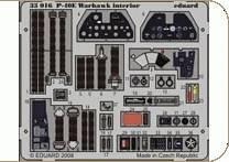 P-40E - Interior S.A. Zoom [Hasegawa] · EDU 33016 ·  Eduard · 1:32