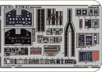 P-47D-25 interior S.A. Zoom Trumpeter · EDU 33017 ·  Eduard · 1:32