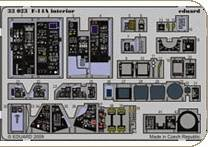 F-14A - Interior self adhesive [Tamiya] · EDU 33023 ·  Eduard · 1:32