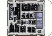 F-4J - Interior S.A. [Tamiya] · EDU 33034 ·  Eduard · 1:32
