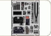 P-47D-20 interior Self adhesive für Trumpeter Bausatz · EDU 33040 ·  Eduard · 1:32
