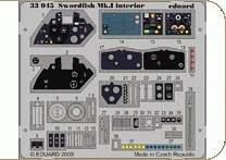 Swordfish Mk.I interior S.A. (TRU) · EDU 33045 ·  Eduard · 1:32