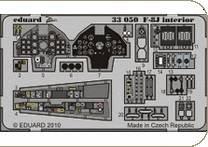 F-8J interior S.A. für Trumpeter · EDU 33050 ·  Eduard · 1:32