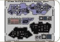 Su-27UB Flanker C - Interior S.A. [Trumpeter] · EDU 33068 ·  Eduard · 1:32